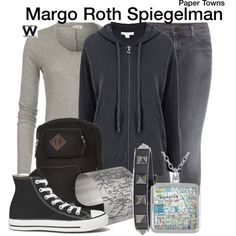 Inspired by Cara Delevingne as Margo Roth Spiegelman in 2015's Paper Towns.
