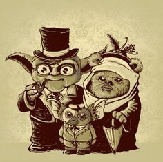 If Yoda mated with an Ewok you would get a Gremlin!  #LOL #funny #starwars