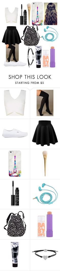 """""""Cute Day!"""" by swagger652 ❤ liked on Polyvore featuring beauty, BCBGMAXAZRIA, Hue, Vans, Casetify, NARS Cosmetics, FOSSIL, Victoria's Secret and Maybelline"""