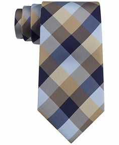 Tommy Hilfiger Buffalo Tartan Tie - Ties & Pocket Squares - Men - Macy's