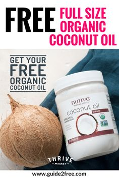 There are several uses and benefits of using coconut oil for cooking but did you know that you can use it directly on your skin, hair and body? Many people have experienced the first hand benefits of coconut oil on…Read more → Coconut Oil For Face, Organic Coconut Oil, Organic Oil, Stuff For Free, Free Stuff By Mail, Free Sample Boxes, Save Money On Groceries, Earn Money, Freebies By Mail