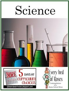 Every Bed of Roses: Day 3 - Science Curriculum