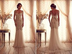 Holy wow. If I had the figure, and the inclination to get married again, this would be the designer. So so so beautiful. anna campbell wedding gowns27 Anna Campbell Gossamer 2013 Made To Measure Collection