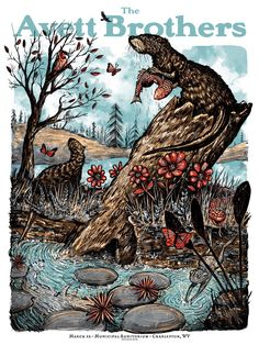 New Avett Brothers Poster by Zeb Love (Onsale Info)