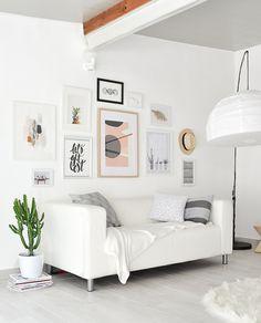 Passion Shake   Garden studio – Creating Gallery Wall   http://passionshake.com