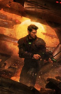 "Cover for ""Clone Redemption"" (Steven L. Kent, Rogue Clone series) by Chris McGrath"