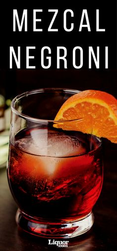 This underrated mezcal #cocktail takes a classic #Negroni and adds the smoke of mezcal.