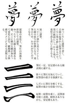 書法解剖 ─ 楷書編 Calligraphy Tutorial, Chinese Element, Typo Design, Chinese Brush, Beautiful Calligraphy, Japanese Calligraphy, Chinese Characters, Japanese Language, Caligraphy