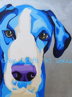 Gorgeous Painting of Dog in Blue Tones http://www.etsy.com/listing/92719113/8x10-print-of-original-pet-portrait-sega?ref=sr_gallery_12_search_query=dogs+blue+silver_order=date_desc_view_type=gallery_ship_to=US_min=0_max=0_page=15_search_type=all