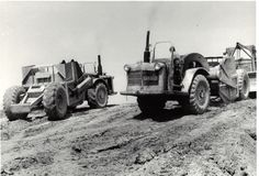 I can totally see my dad on one of these old hogs back in the 50's, these men were tougher than nails.....16 hour days, 7 days a week building highways, airports, anything that needed huge earth moving projects completed......