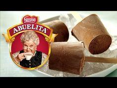 PALETAS HELADAS DE CHOCOLATE ABUELITA - YouTube