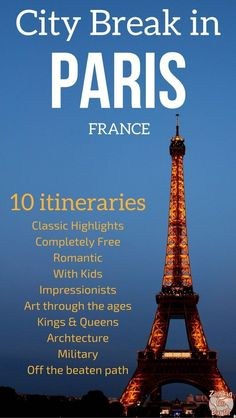 Paris Travel Itinerary - Find 10 suggestion on how to spend 3 days in Paris. Make the best of your long weekend in Paris France depending on what you like #Paris   things to do in Paris   Paris Art   Paris ideas #Paristravel