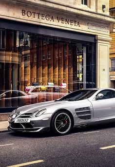 Merc SLR 722 really is the ultimate GT car.