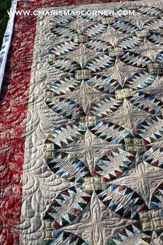 traditional pickle dish quilt