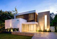 Fachadas modernas de casas de dos pisos | Construye Hogar