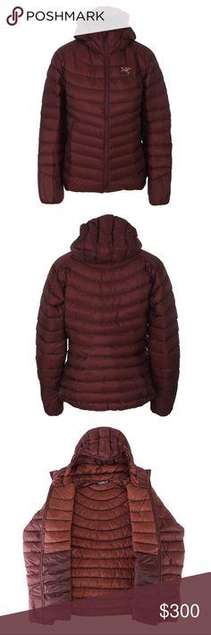 NWT Arcteryx Cerium LT Hoody Color is Cherry Chocolate Down  850 Fill  18B1 Arc'teryx Jackets & Coats Puffers