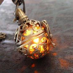 Steampunk FIRE necklace - pendant charm locket jewelry- GREAT GIFT by OldJunkyardBoutique, http://www.amazon.com/dp/B007VFHOQ0/ref=cm_sw_r_pi_dp_izNirb15CTDPB: