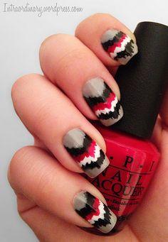 American Indian Inspired Nail Art #nailpolish #nailart #manicure