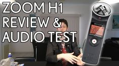 Zoom H1 Recorder Review & Audio Test #Videography