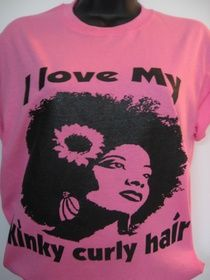 I love My Kinky Curly Hair