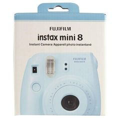 Fujifilm Instax Mini 8 Camera, Blue