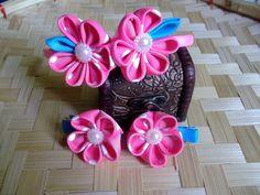 grosgrain flower head set