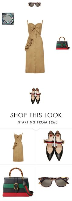 """""""*341"""" by marina-dedovich ❤ liked on Polyvore featuring Johanna Ortiz, Gucci, Tom Ford and gucci"""