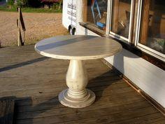 Unfinished Wood Pedestal Table Base | BobReutersTL.com
