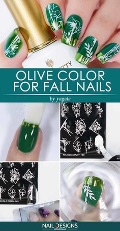 Olive Color For Fall Nails ❤ Super Easy Fall Nail Ideas You Should Try This Season ❤ See more ideas on our blog!! #naildesignsjournal #nails #nailart #naildesigns #fallnails #autumnnails #nailtutorials #fallnailsart Halloween Nail Designs, Halloween Nails, St Patricks Day Nails, How To Cut Nails, Gel Nails French, Dipped Nails, Journal Design, Long Acrylic Nails, Simple Nail Designs