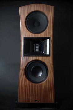 Model Rainier by Hawthorne Audio Open Baffle Speakers, Pro Audio Speakers, Horn Speakers, Diy Speakers, Bookshelf Speakers, Hifi Audio, Hifi Turntable, Audiophile Speakers, Monitor