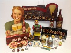 Breweriana from mid to late 40's