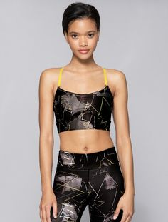 The Cut Bra in Jagged, $53   Alala   Luxury Womens Activewear   Style meets Sport