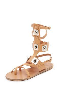 Ancient Greek Sandals Ancient Greek Sandals For Peter Pilotto Gladiator Sandals - Natural | SHOPBOP.COM saved by #ShoppingIS