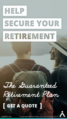 Helptake the risk out of retirement withTheGuaranteed Retirement Plan (a fixed annuity) and receive guaranteed, life-long income in retirement