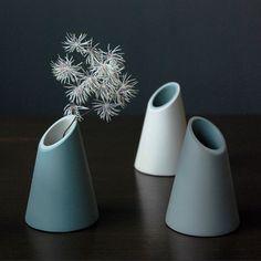 Image of Small Slash Cut Vases