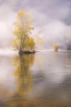 Fall mist (Yosemite) by Seungho Yoo / 500px