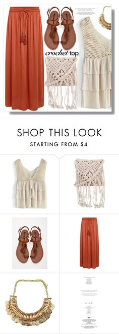 """""""Boho ;-)"""" by myfashionwardrobestyle ❤ liked on Polyvore featuring Chicwish, 7 Chi, Forever 21 and Linea Weekend"""