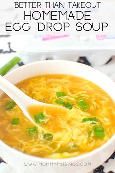 Egg drop soup recipe easy to make at home just like chinese takeout soup chinese easy eggdropsoup takeout easyrecipes souprecipes chicken lo mein Best Soup Recipes, Healthy Recipes, Healthy Soup, Vegetarian Recipes, Cooking Recipes, Simple Soup Recipes, Easy Home Recipes, Recipes With Chicken Stock, Crockpot Recipes