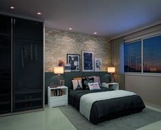 Quarto do apartamento 1102