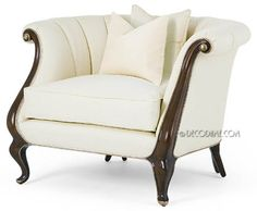 'The Classic' French Art Deco Style Occasional / Club Chair