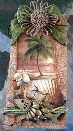 Martica Designs: Beach Tag