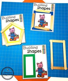 Looking for fun Preschool Construction Theme Activities for kids? Check out these 16 Hands-On Construction Learning Activities and Crafts for Preschool or Kindergarten. Creative Curriculum Preschool, Preschool Lesson Plans, Preschool Themes, Preschool Classroom, Preschool Language Activities, Classroom Ideas, Construction Theme Classroom, Construction Birthday, Games