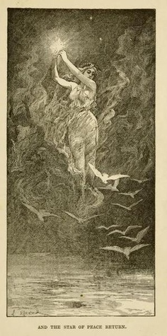 The blue poetry book (1912)  illustrations by Henry Justice Ford & Lancelot Speed    And the star of peace return
