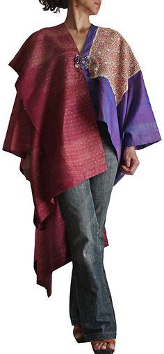 Thailand   Splashed pattern(madme)  Coat