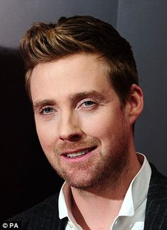 By ek lad, what 'appened 'ere - a riot? Who cares, we like it! Ricky Wilson, lead singer with British band The Kaiser Chiefs gets a man-over for his role in The Voice.