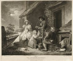 The Contented Waterman. From Mr Dibdin's celebrated Song, call'd My Poll & my partner Joe by George Morland - print