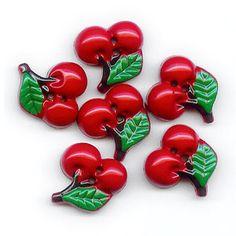 Cute #Cherry #Buttons <3 <3
