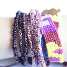 "Ketzali Jewelry - Ketzali ""Wachinik Handmade Triple Bracelet"""