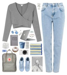 """""""can't keep pulling you back"""" by via-m ❤ liked on Polyvore featuring Monki, Pull&Bear, Revol, Christy, adidas, Fjällräven, Speck, Nikon, Pieces and Paper Mate"""