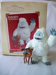 2005 Hallmark Ornament Rudolph The Red Nosed Reindeer Rudolph and Bumble The Abo | eBay